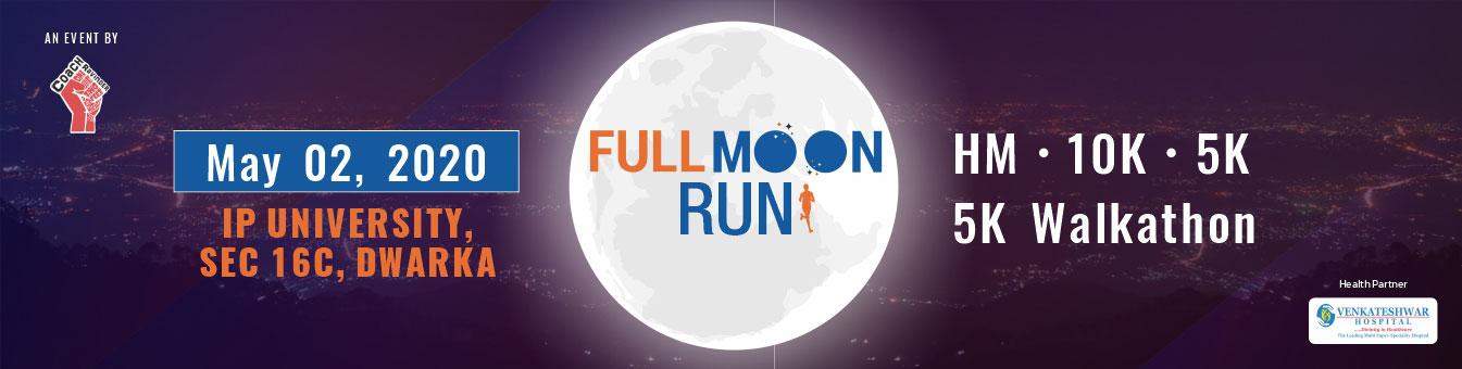 Full Moon Run Dwarka New Delhi